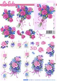 Hojas de 3D Rosenstrauß Format A4