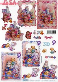 Hojas de 3D Formato A4