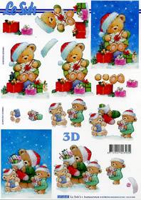 3D Bogen Weihnachtsb?rchen Format A4