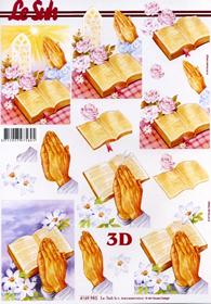 Feuille 3D Religie - Format A4