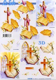 Hojas de 3D Religie - Formato A4