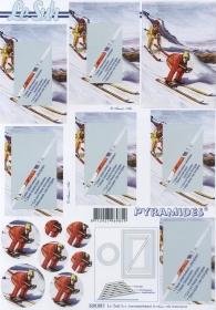3D-boog - Piramides - Formaat A4