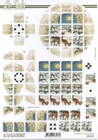 Carta per 3D Squares - Formato A4