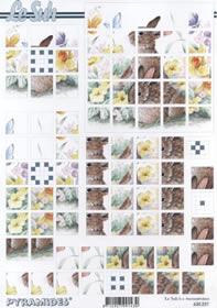 3D-boog - pleinen A4-formaat