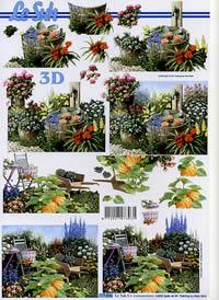 Carta per 3D Im Garten - Formato A4