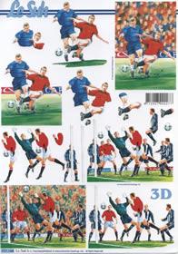 Carta per 3D Fu?ball 2x - Formato A4