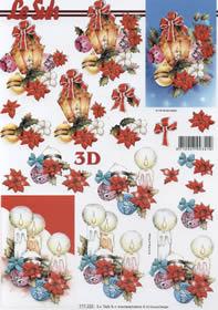 3D sheet Weihnachtslaterne - Format A4