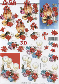 Hojas de 3D Weihnachtslaterne - Formato A4