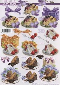 3D sheet Format A4 Kuchen