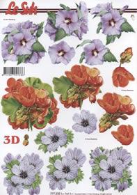 Łuk 3D - Format A4 - Blumen