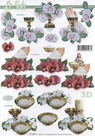 3D Bogen Format A4-Religion
