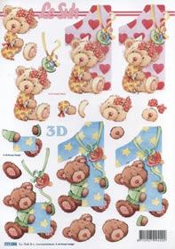 3D sheet 1 Jahr Format A4