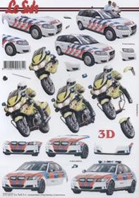 3D sheet Auto+Motorrad - Format A4