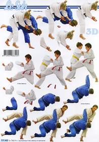 3D Bogen Judo - Format A4
