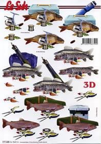 Łuk 3D - Wędkarze-aużytkownicy Format A4