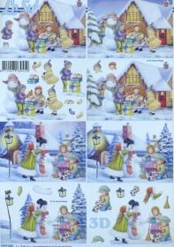 Carta per 3D Kinder und Geschenke