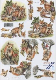 3D sheet Fuchs - Format A4