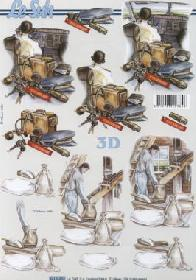 3D Bogen Berufe Pilot+Müller - Format A4