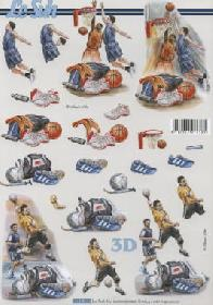 Carta per 3D Fussball+Basketball - Formato A4