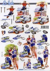 3D sheet Sport - Format A4