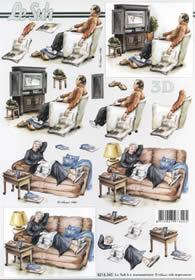 3D sheet Vorruhestand - Format A4