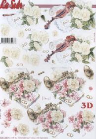 Łuk 3D - Hochzeit Violine-Trompete Format A4