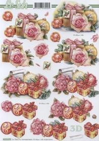 Hojas de 3D Geschenke - Formato A4