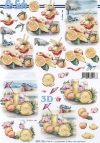 Carta per 3D Cocktail Format A4 - Formato A4