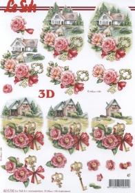 Feuille 3D Umzug Format A4 - Format A4