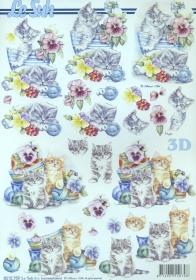 Feuille 3D  - Format A4