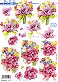Carta per 3D Blumenstrauß - Formato A4