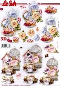 Hojas de 3D  - Formato A4