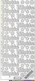 Stickers Glitzer-Stickers - silber
