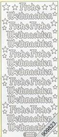 Stickers Glitzer-Stickers - grün