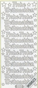 Stickers Glitzer-Stickers - silver