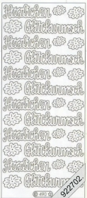 Adesivi Text-Sticker - deutsch - oro