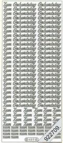 Stickers Zum Geburtstag - white