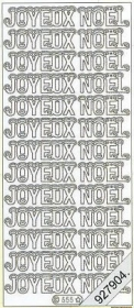 Stickers Joyeux  No?l - gold