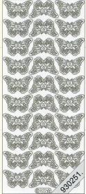Adesivi 0822 - kleine Schmetterlinge - multicolor