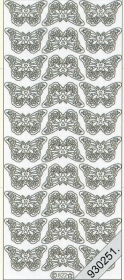 Stickers 0822 - kl. Schmetterlinge - gold