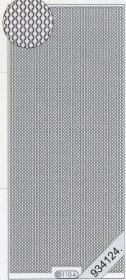 Stickers 1104 - Rand feine Kette - silber