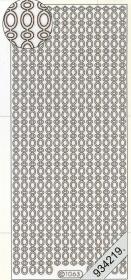 Stickers Bordüren / Linien - silver