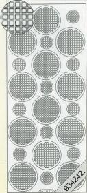 Stickers Ganze-rund flieder - lila