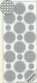 Stickers Ganze-rund gelb - gelb