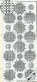 Stickers Ganze-rund bronze - bronze