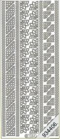 Stickers 1034 - Rand+Ecken - gold
