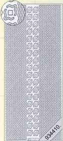 Adesivi Bordüren / Linien - argenteo