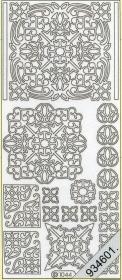 Stickers Ornamente - bronze