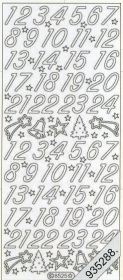 Stickers 8525 - silver