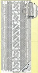 Stickers - 1166 - Ecken und Rand - gold